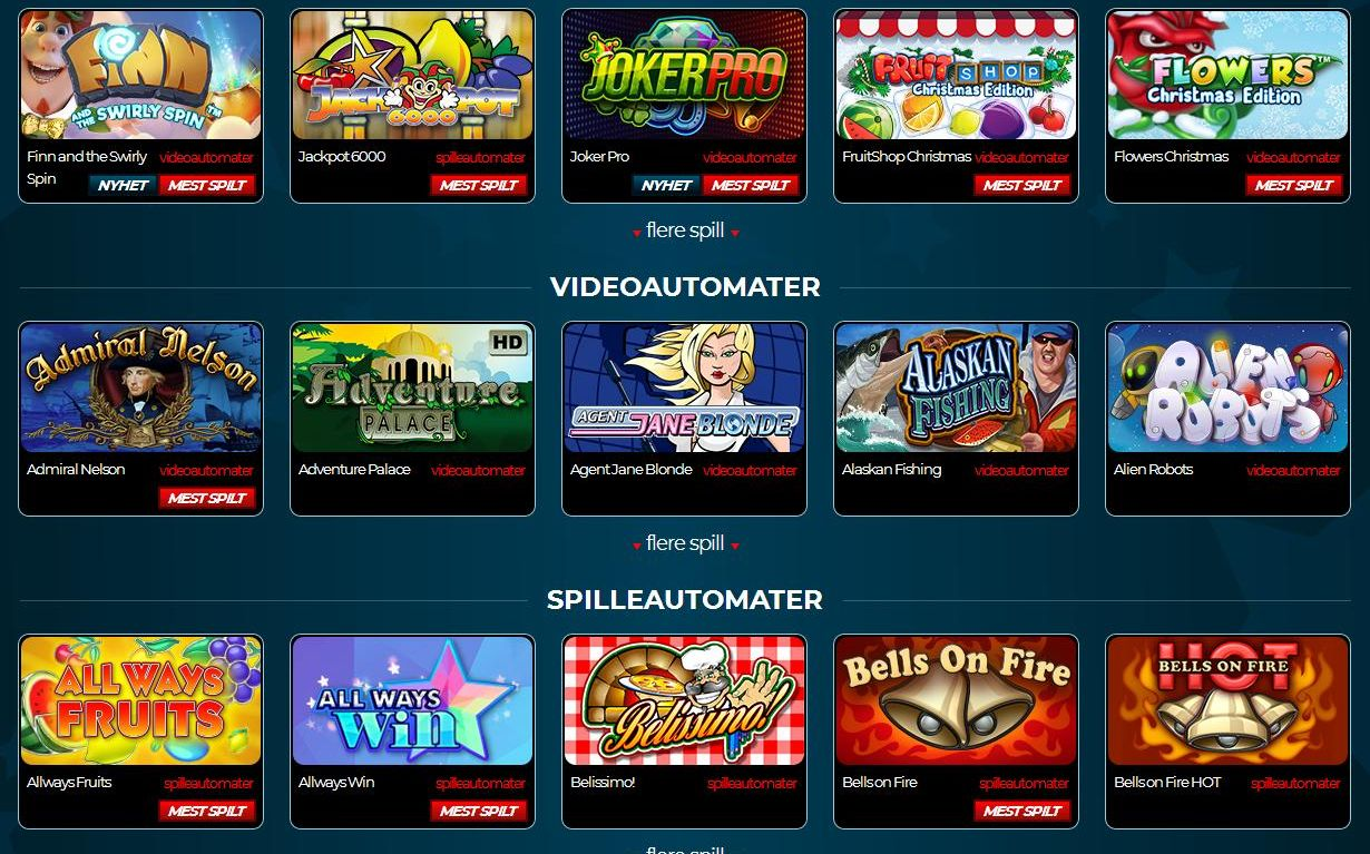 Most Impressive Online Casino