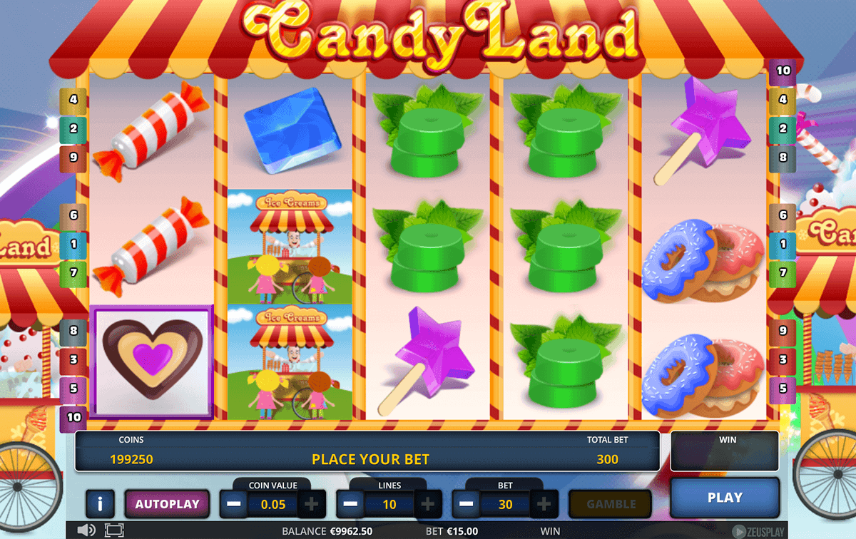 Relax with No Download Candyland Slots